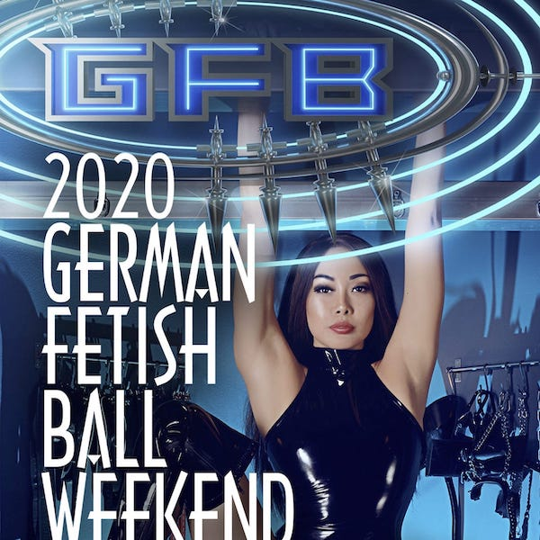 German Fetish Ball Eva Oh