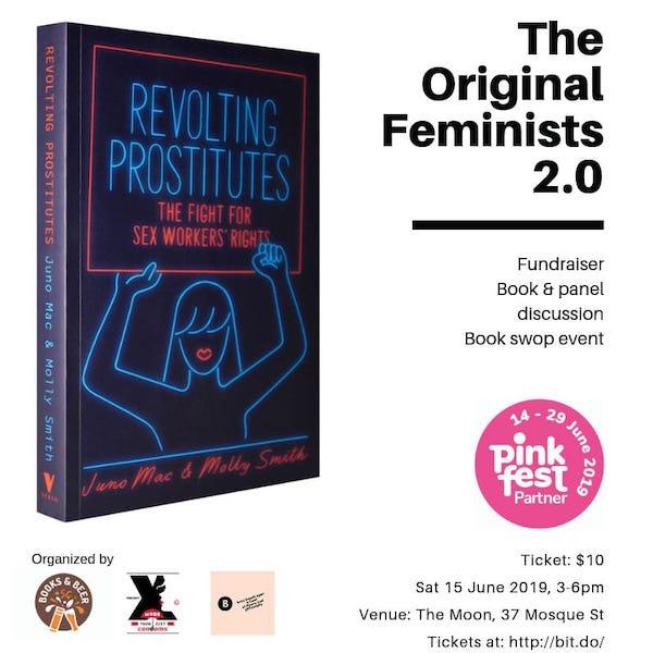 Pinkfest Singapore Original Feminists Eva Oh
